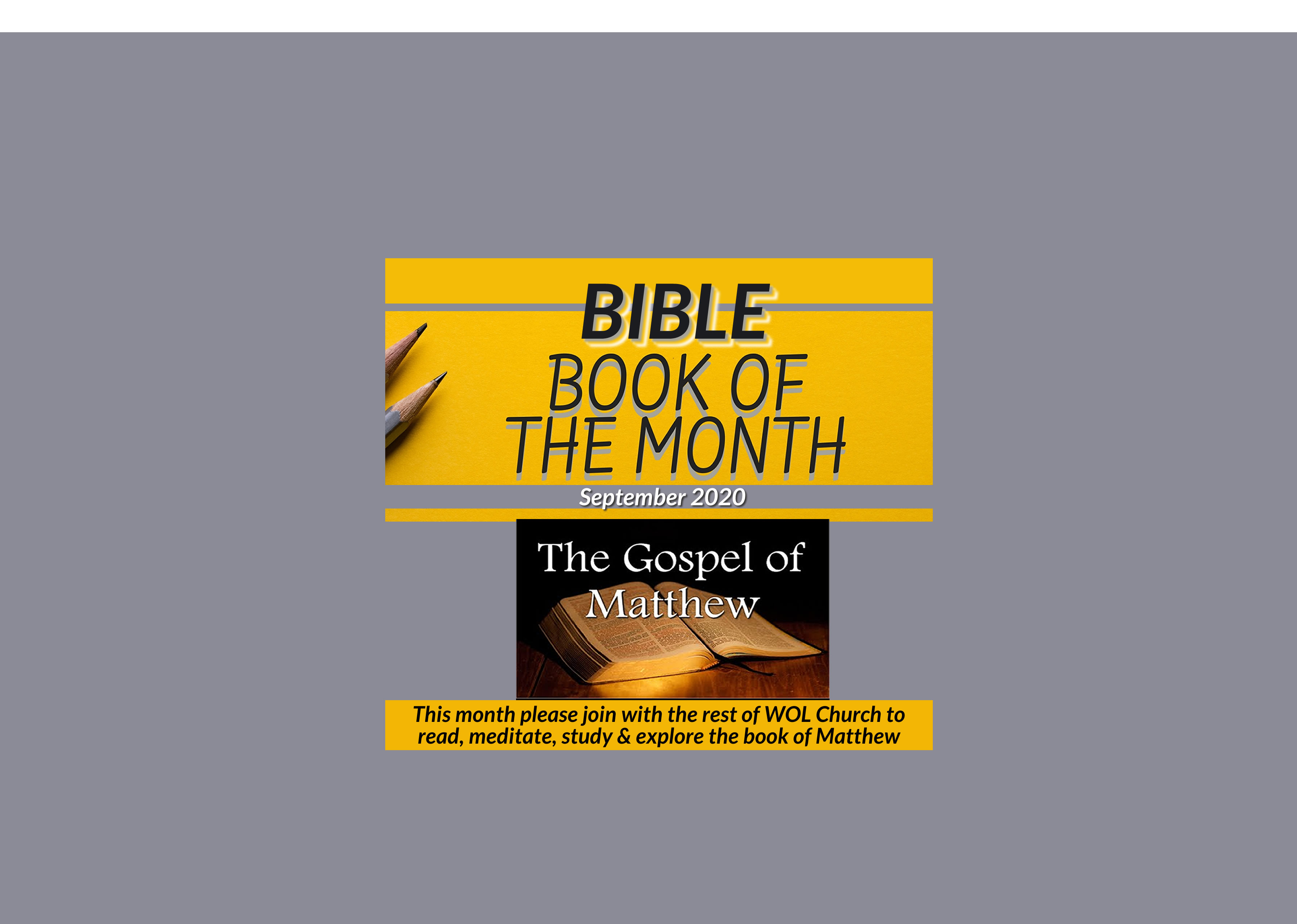 Bible Book Of The Month   Sep 2020   Web