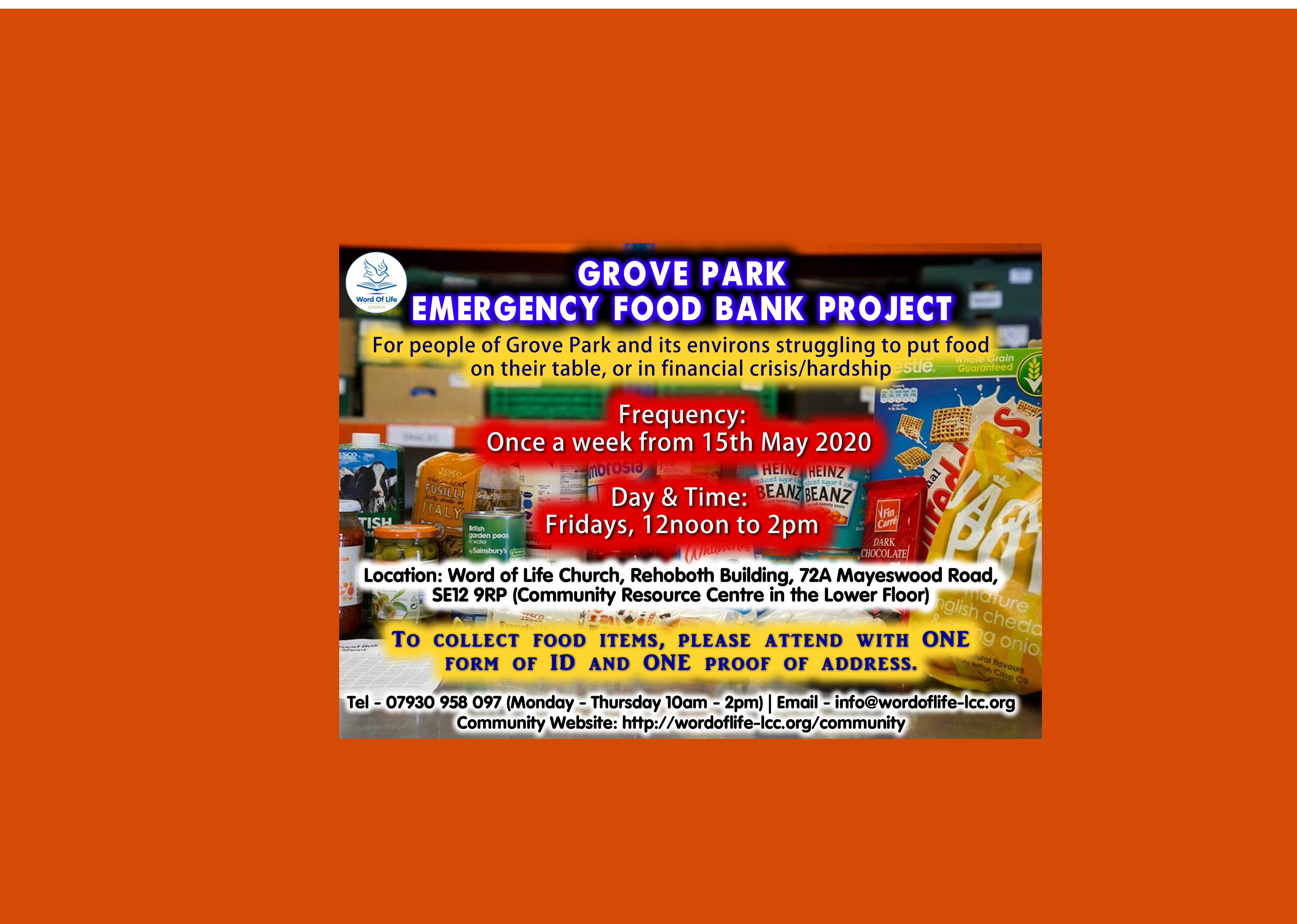 Food Bank Flyer   Web