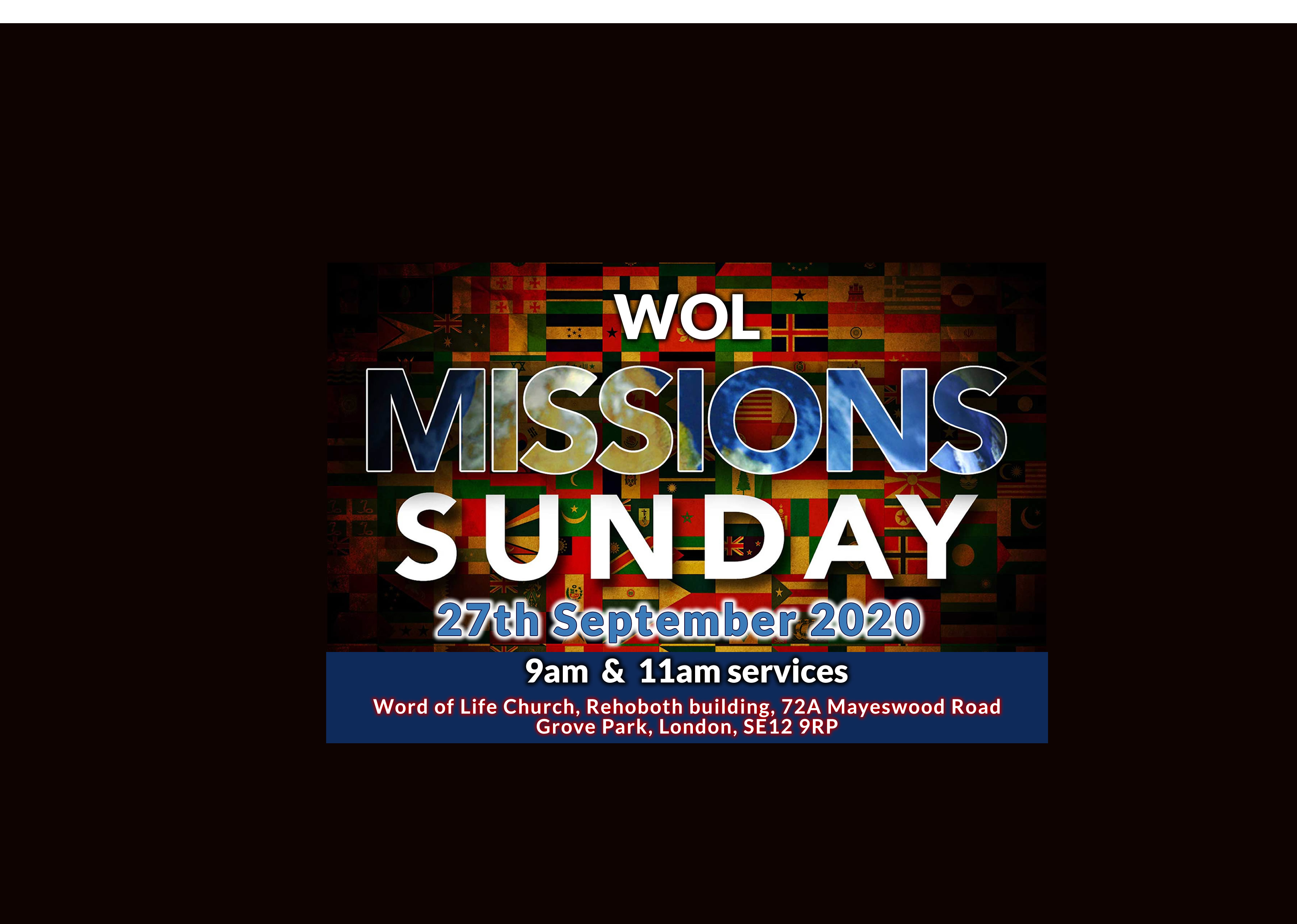 Missions Sunday   Sep 2020   Web